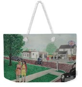 17th And Hutchins Street Portsmouth Ohio Weekender Tote Bag