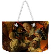 17th Century Maidens Weekender Tote Bag