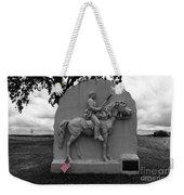 17th Pennsylvania Cavalry Monument Gettysburg Weekender Tote Bag