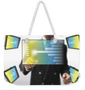 Business Abstract Weekender Tote Bag
