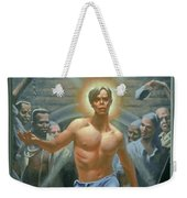 18. Jesus Rises / From The Passion Of Christ - A Gay Vision Weekender Tote Bag