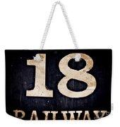 18 Railway Weekender Tote Bag