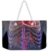 The Cardiovascular System Weekender Tote Bag