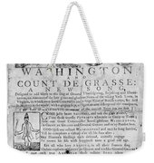 Yorktown: Surrender, 1781 Weekender Tote Bag