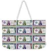 180 Million Dollars Weekender Tote Bag