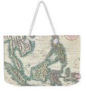1801 Cary Map Of The East Indies And Southeast Asia  Singapore Borneo Sumatra Java Philippines Weekender Tote Bag