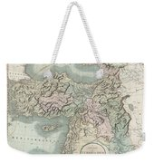 1801 Cary Map Of Turkey Iraq Armenia And Sryia Weekender Tote Bag