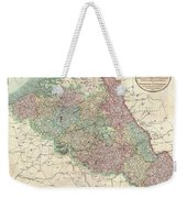 1804 Cary Map Of Belgium And Luxembourg Weekender Tote Bag