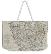 1804 German Edition Of The Rennel Map Of India Weekender Tote Bag