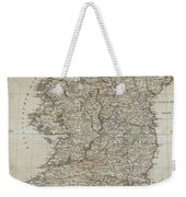 1804 Jeffreys And Kitchin Map Of Ireland Weekender Tote Bag