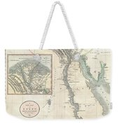 1805 Cary Map Of Egypt Weekender Tote Bag