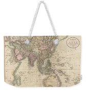 1806 Cary Map Of Asia Polynesia And Australia Weekender Tote Bag