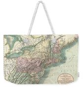 1806 Cary Map Of New England New York Pennsylvania New Jersey And Virginia Weekender Tote Bag