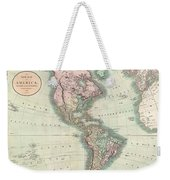 1806 Cary Map Of The Western Hemisphere  North America And South America Weekender Tote Bag