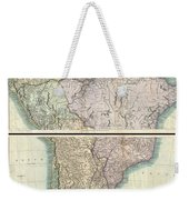 1807 Cary Map Of South America Weekender Tote Bag