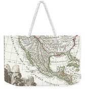 1810 Tardieu Map Of Mexico Texas And California Weekender Tote Bag