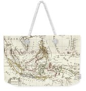 1810 Tardieu Map Of The East Indies Singapore Southeast Asia Sumatra Borneo Java Weekender Tote Bag