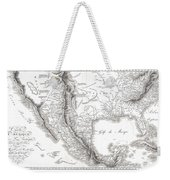 1811 Humboldt Map Of Mexico Texas Louisiana And Florida Weekender Tote Bag