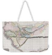 1813 Pinkerton Map Of Western Africa Weekender Tote Bag