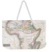1813 Thomson Map Of Africa Weekender Tote Bag