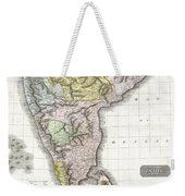 1814 Thomson Map Of India Weekender Tote Bag