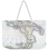 1814 Thomson Map Of Southern Italy Weekender Tote Bag