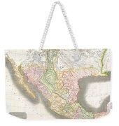 1814 Thomson Map Of Texas Mexico  Louisiana Weekender Tote Bag