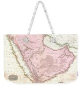 1818 Pinkerton Map Of Arabia And The Persian Gulf Weekender Tote Bag