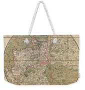 1820 Mogg Pocket Or Case Map Of London Weekender Tote Bag