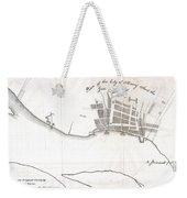 1820 Yates Map Of Albany Circa 1770 Weekender Tote Bag