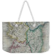 1822 Butler Map Of Ireland Weekender Tote Bag