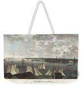 1824 Klinkowstrom View Of New York City From Brooklyn  Weekender Tote Bag by Paul Fearn