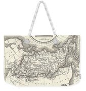1826 Assheton Map Of Russia In Asia Weekender Tote Bag