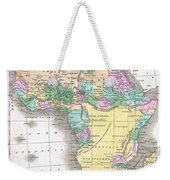 1827 Finley Map Of Africa Weekender Tote Bag