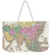 1827 Finley Map Of Asia And Australia Weekender Tote Bag