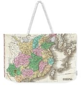1827 Finley Map Of China  Weekender Tote Bag