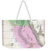 1827 Finley Map Of Egypt Weekender Tote Bag