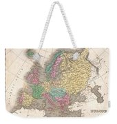 1827 Finley Map Of Europe Weekender Tote Bag