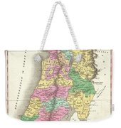 1827 Finley Map Of Israel  Palestine Holy Land Weekender Tote Bag