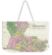 1827 Finley Map Of Louisiana Weekender Tote Bag