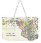 1827 Finley Map Of Maryland Weekender Tote Bag