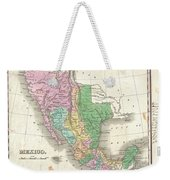1827 Finley Map Of Mexico Upper California And Texas Weekender Tote Bag