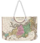 1827 Finley Map Of Russia In Asia Weekender Tote Bag