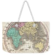 1827 Finley Map Of The Eastern Hemisphere  Weekender Tote Bag