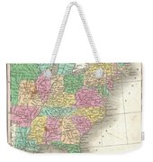 1827 Finley Map Of The United States Weekender Tote Bag