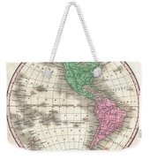 1827 Finley Map Of The Western Hemisphere Weekender Tote Bag