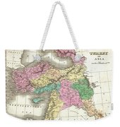 1827 Finley Map Of Turkey In Asia Iraq And Israel Weekender Tote Bag