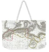 1829 Lapie Map Of The Eastern Mediterranean Morocco And The Barbary Coast Weekender Tote Bag