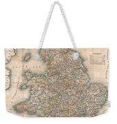 1830 Pigot Pocket Map Of England And Wales Weekender Tote Bag