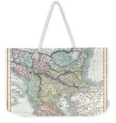 1836 Cary Map Of Greece And The Balkans Weekender Tote Bag